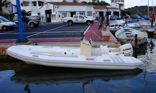 Rent The 19' Semirigid Inflatable (2017) Tarpon 590 Lx + 75 Hp Evinrude E-tec In Platja D'aro, (costa Brava - Spain)