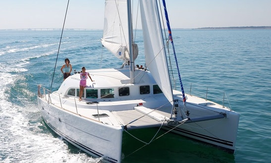 Charter Catamaran   Lagoon 380 In Tivat