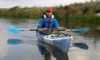 Rent a Single Kayak in Zaliwie-Szpinki, Poland
