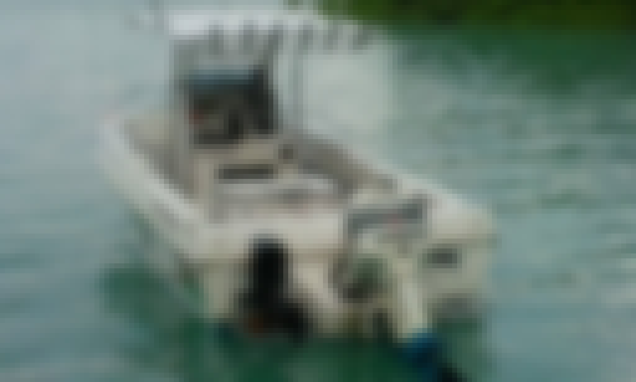 "Vanuatu Fishing Charter On ""Sea Eagle"" Center Console With Fabrice"