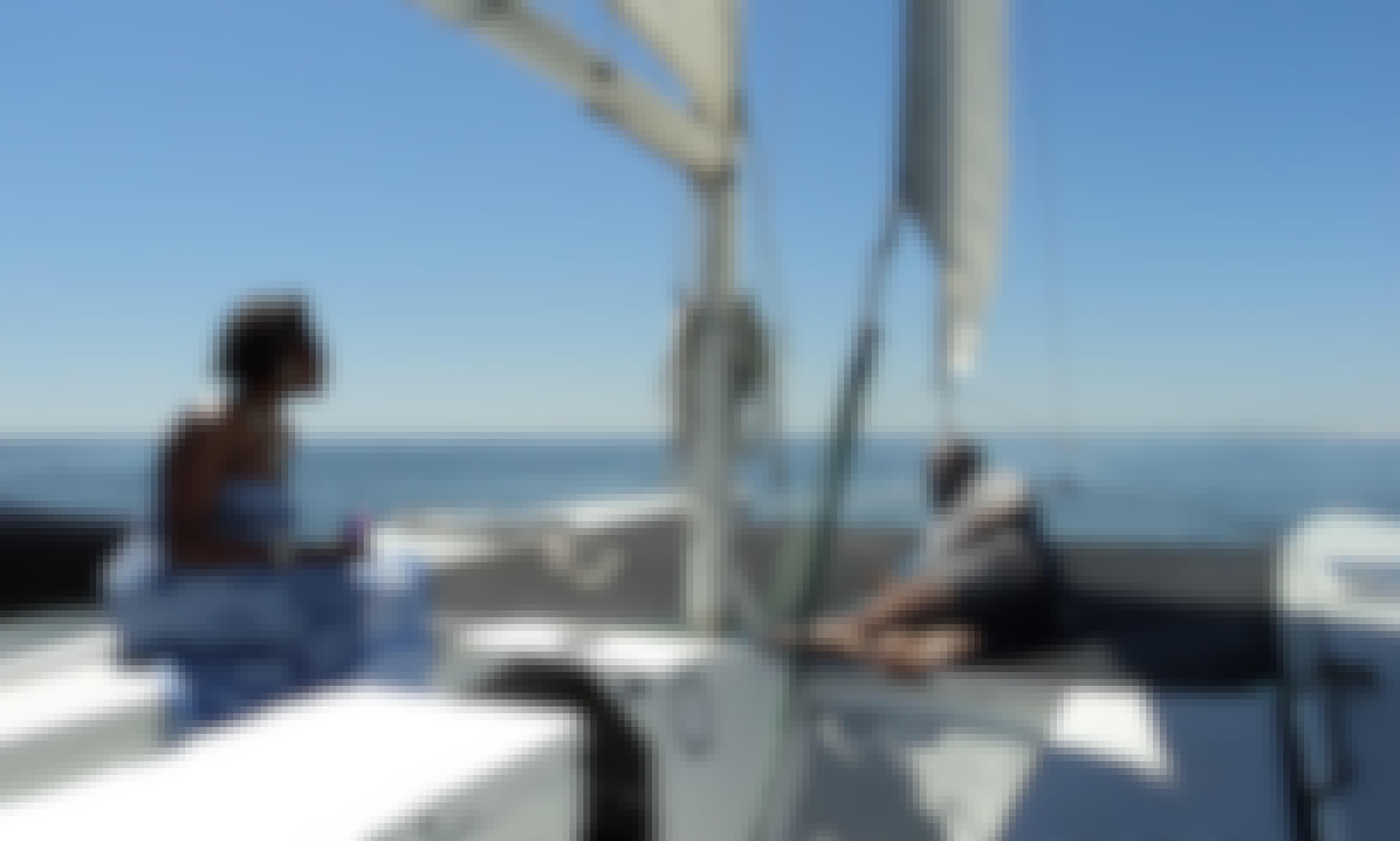 Cruising Stiletto 30' Catamaran Charter in Destin