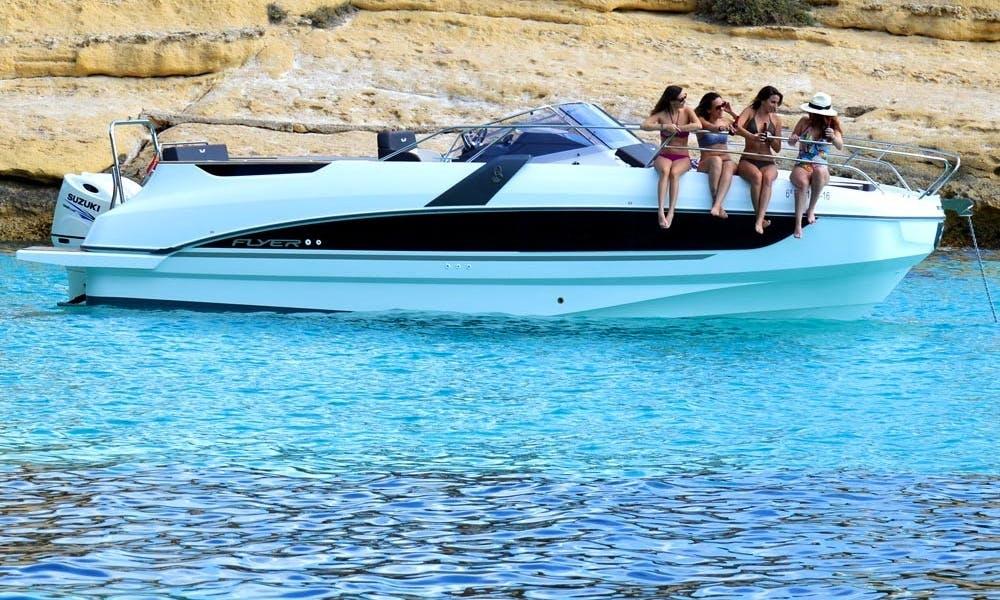 Beneteau Flyer 8.8 SD Yacht Charter in Palma de Mallorca