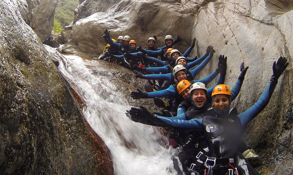 Canyoning Tour in Girona, Spain