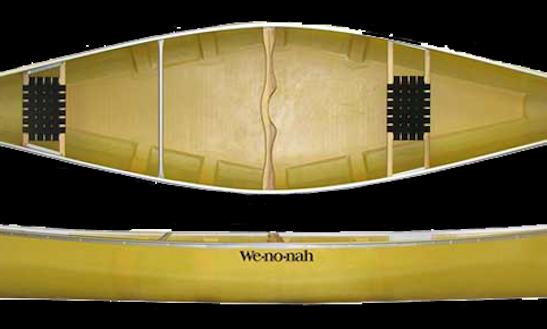 Nice 2015 Wenonah Fisherman Canoe For Grand Lake / Shadow Mountain Lake / Lake Granby / Willow Creek Reservoir