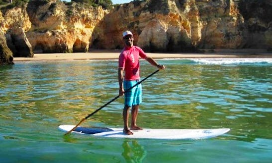 Stand Up Paddleboard Portimao Cliffs Tour And Rental