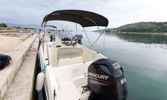 Activ 505 Open Boat For Rent In Trogir, Croatia