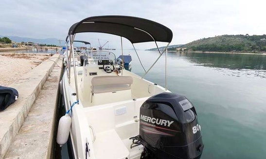 Activ 505 Open Boat For Rent In Trogir, Croatia