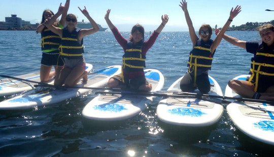 10' Paddleboard Rental In Victoria, Canada
