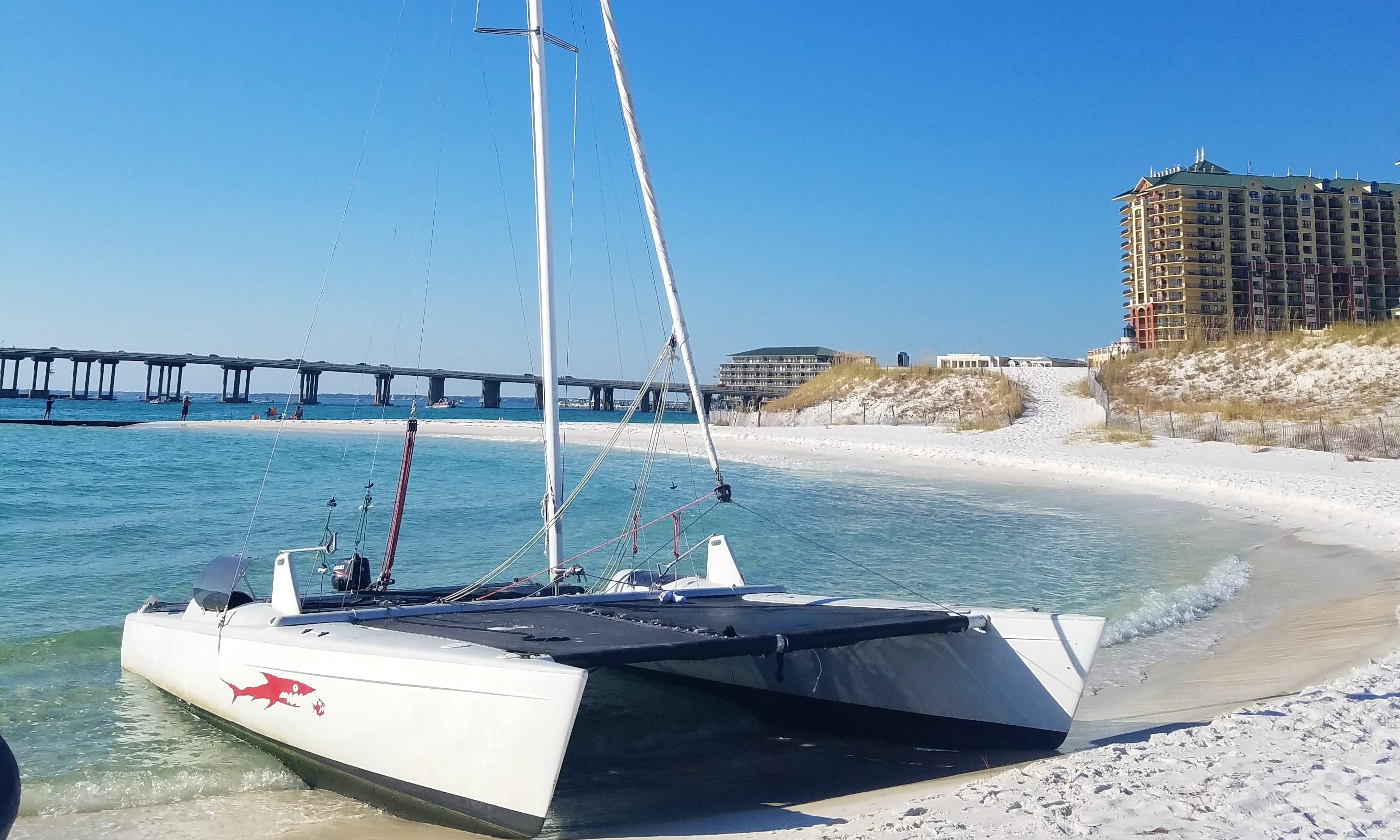 Fastest Sailing Catamaran charter in Destin