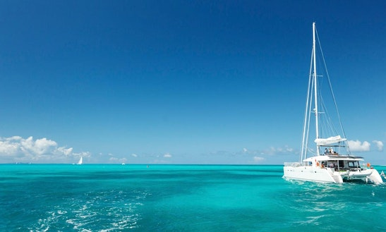 Cruising Catamaran Rental In St. John