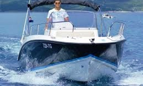 21' Quicksilver 675 Activ Cuddy Cabin Rental In Makarska, Croatia