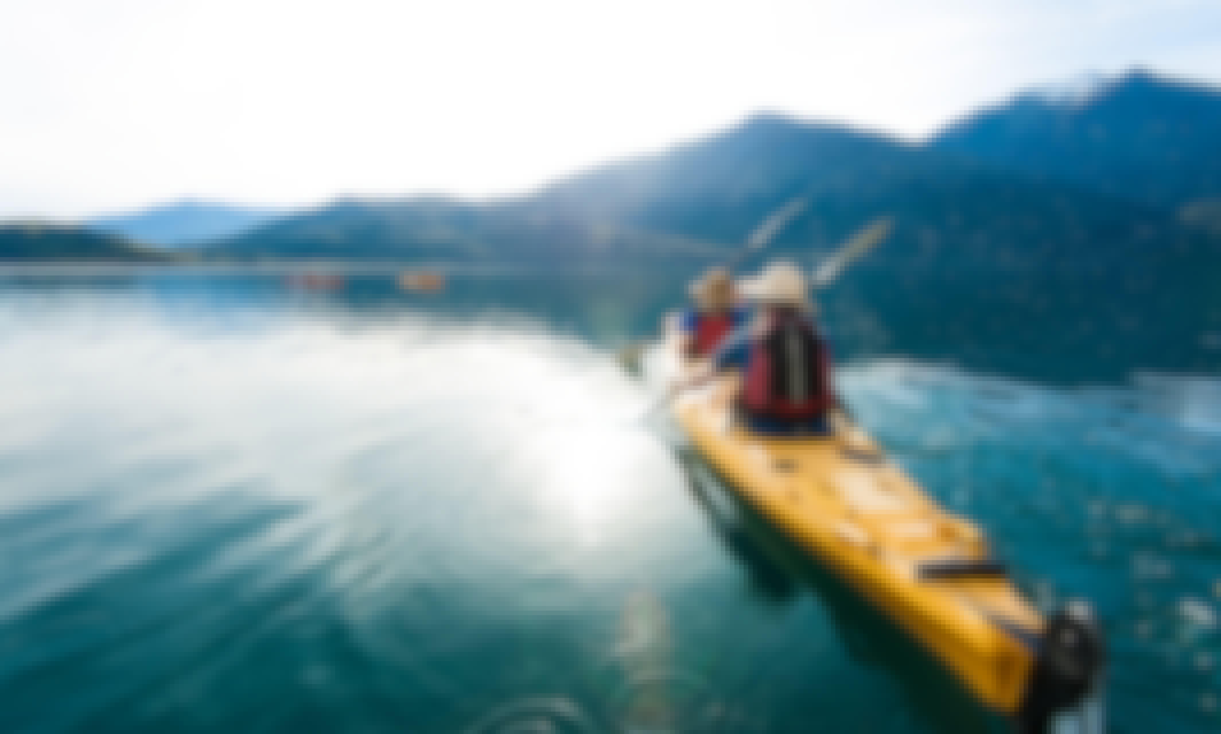 Guided Kayak Tour on Lake Wanaka, New Zealand
