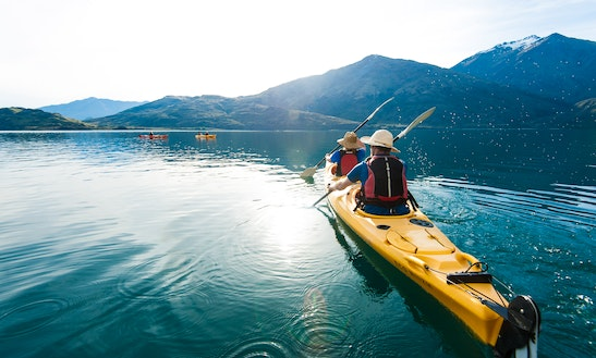 Guided Kayak Tour On Lake Wanaka, New Zealand