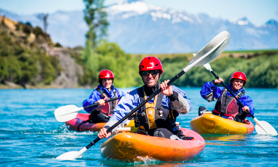 Guided River Kayak Trips In Wanaka, Otago