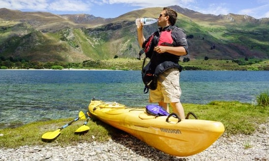 Double Sea Kayak Rental On Lake Wanaka