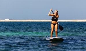 Stand Up Paddleboarding In Dubai, United Arab Emirates