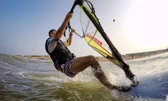 Enjoy Windsurfing In Kovalam, Tamil Nadu