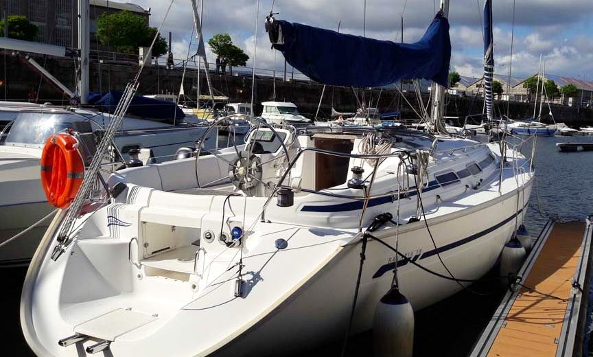 "Charter the ""Pillabans"" Bavaria 38 Sailing Yacht in Vigo, Spain"