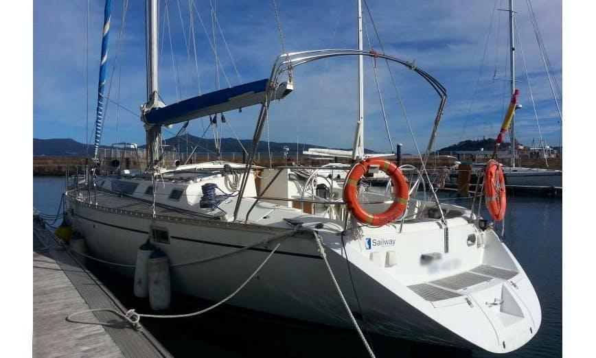 "50ft ""Lua"" Beneteau Oceanis Sailing Yacht in Vigo, Spain"