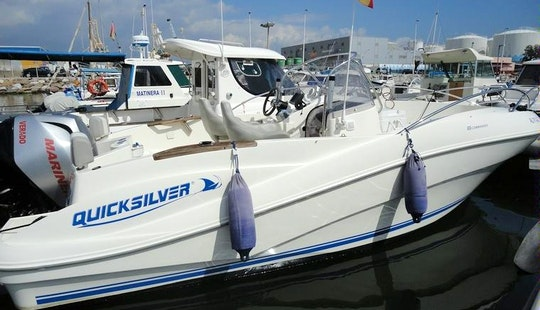 Rent The 21ft Quicksilver Power Boat With Or Without Skipper In Garrucha, Andalucia