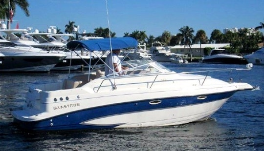 Rent The 24' Glastron Power Boat In Garrucha, Andalucia