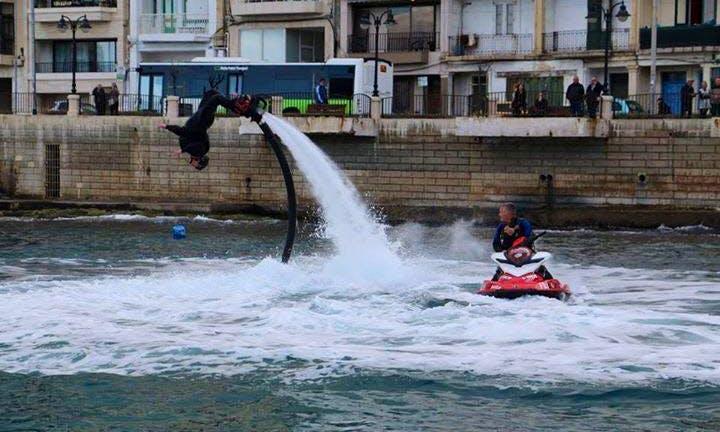 Flyboarding Courses and  Rentals  in Saint Julian's, Malta