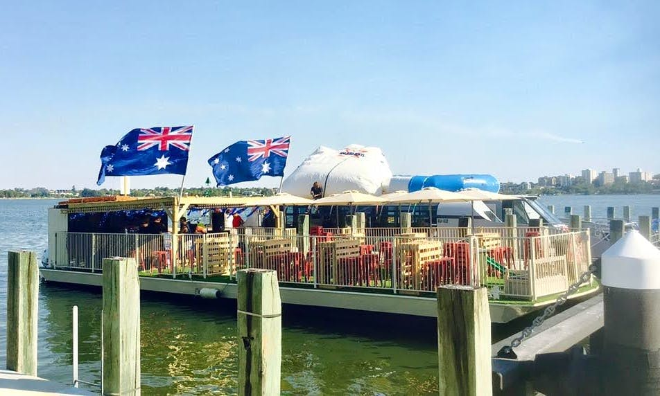 Captained Party Boat Hire in Perth, Western Australia