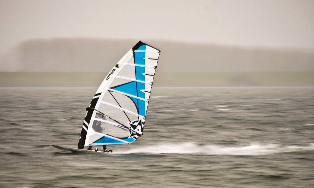 Windsurfing in Sagres, Portugal