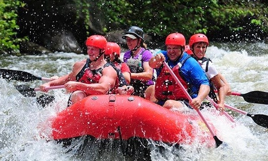 Enjoy Rafting Trips On Ayung River In Candidasa, Bali