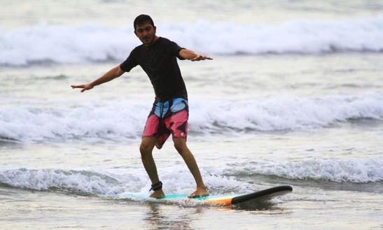 Enjoy Surf Lessons And Tours In Denpasar, Bali