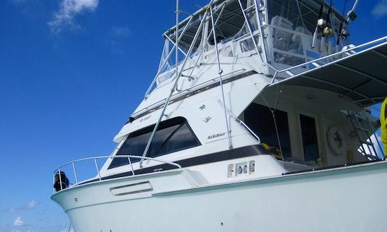 43' Bertram Leisure Snorkel Charter Nassau First Strike Charters!