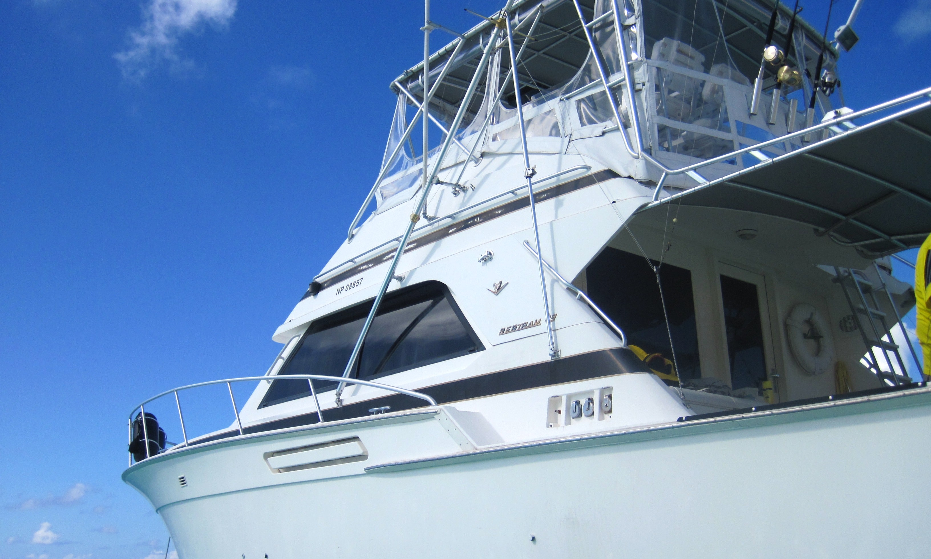 43ft Bertram Leisure/ Snorkel Charter in Nassau New Providence, Bahamas