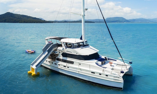 Charter 70' Power Mega Yacht In Phuket, Thailand