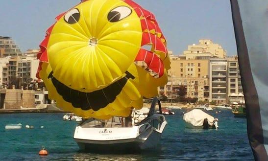 Enjoy Parasailing In Saint Julian's, Malta