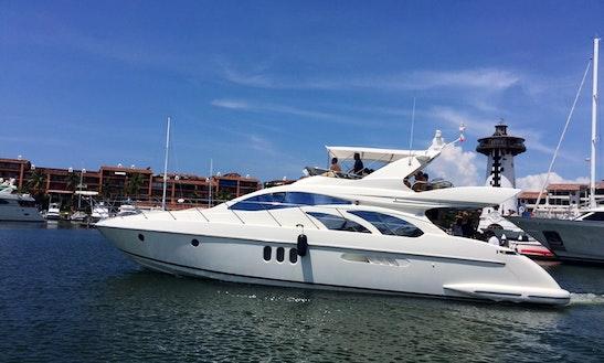 58' Azimut Yacht Charter In Puerto Vallarta, Jalisco