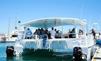 Enjoy Boat Party On Power Catamaran In Cabo San Lucas, Mexico