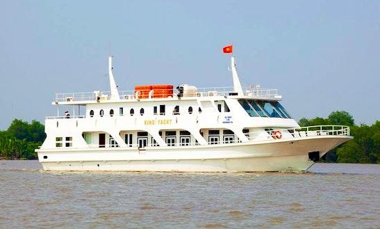 Charter Passenger Boat In Ho Chi Minh City, Vietnam