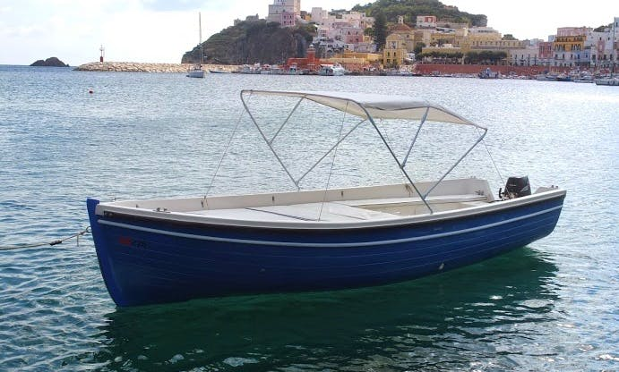 Rent 20' Dinghy in Ponza, Italy