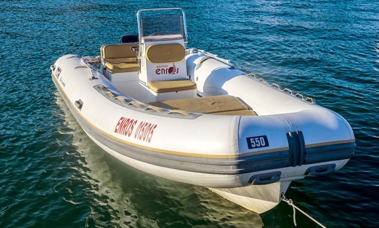 Rent 18' Rigid Inflatable Boat In Ponza, Italy