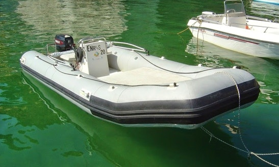 Rent 17' Cherokee Rigid Inflatable Boat In Ponza, Italy