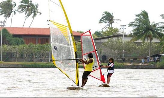 Enjoy Windsurfing Courses And Rentals In Aluthgama, Sri Lanka