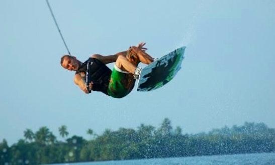 Enjoy Wakeboarding Courses In Aluthgama, Sri Lanka
