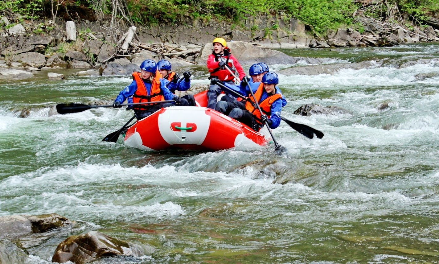 White Water Rafting From Kyiv, Ukraine