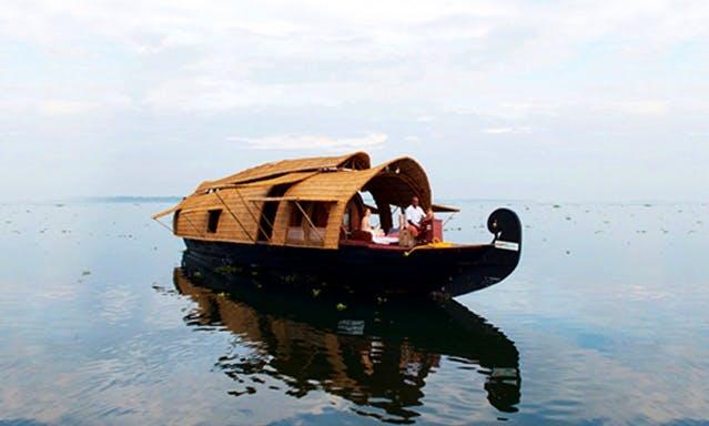 Houseboat Vacation Rental in Kerala, India