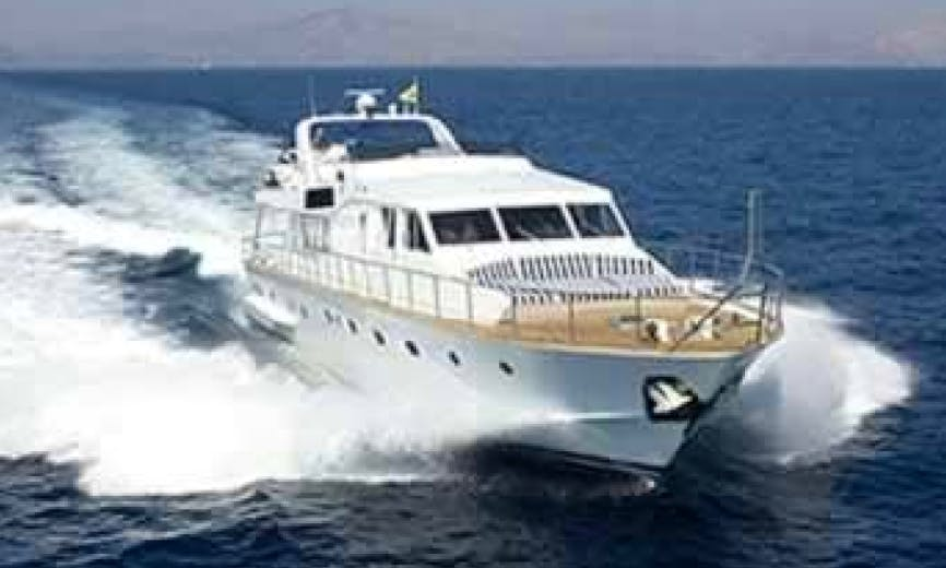 Charter 90ft 'Ivi' Power Mega Yacht In İstanbul, Turkey