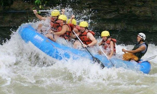 White Water Rafting In Esterillos Oeste, Costa Rica