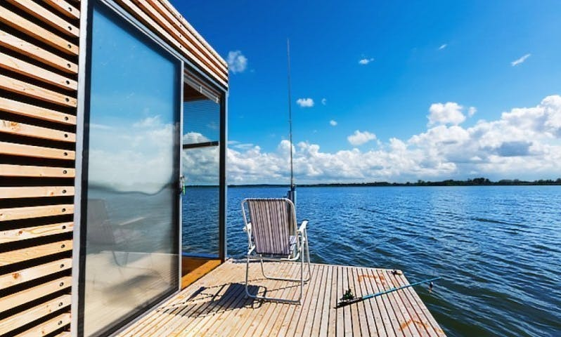 Enjoy and Stay on Houseboat HT1 in Mielno, Poland!