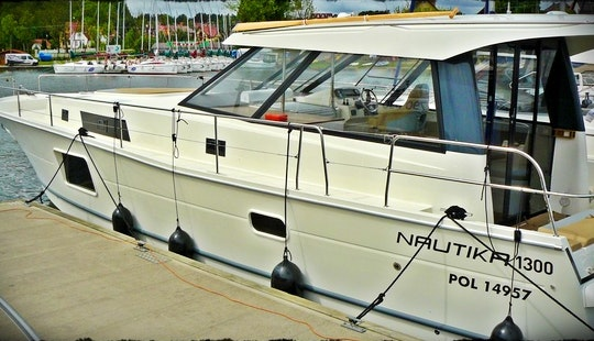 Hire The Nautika 1300 Motor Yacht In Wilkasy, Poland