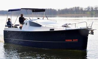 Hire the Nexus 850 Motor Yacht  in Wilkasy, Poland