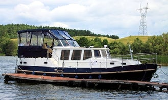 Hire Nautiner 40 AFT Motor Yacht in Wilkasy, Poland